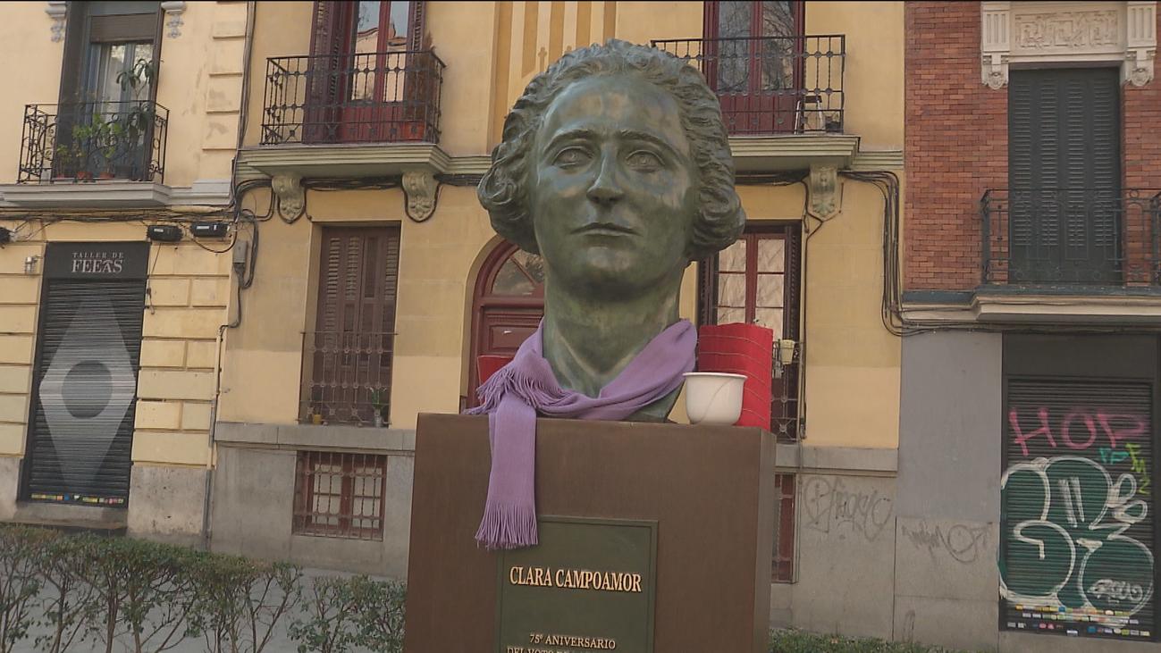 Las mujeres que han hecho historia, invisibles en Madrid