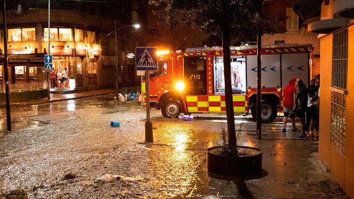 El 112 atiende en la Comunidad de Madrid 1.134 incidencias por la tormenta