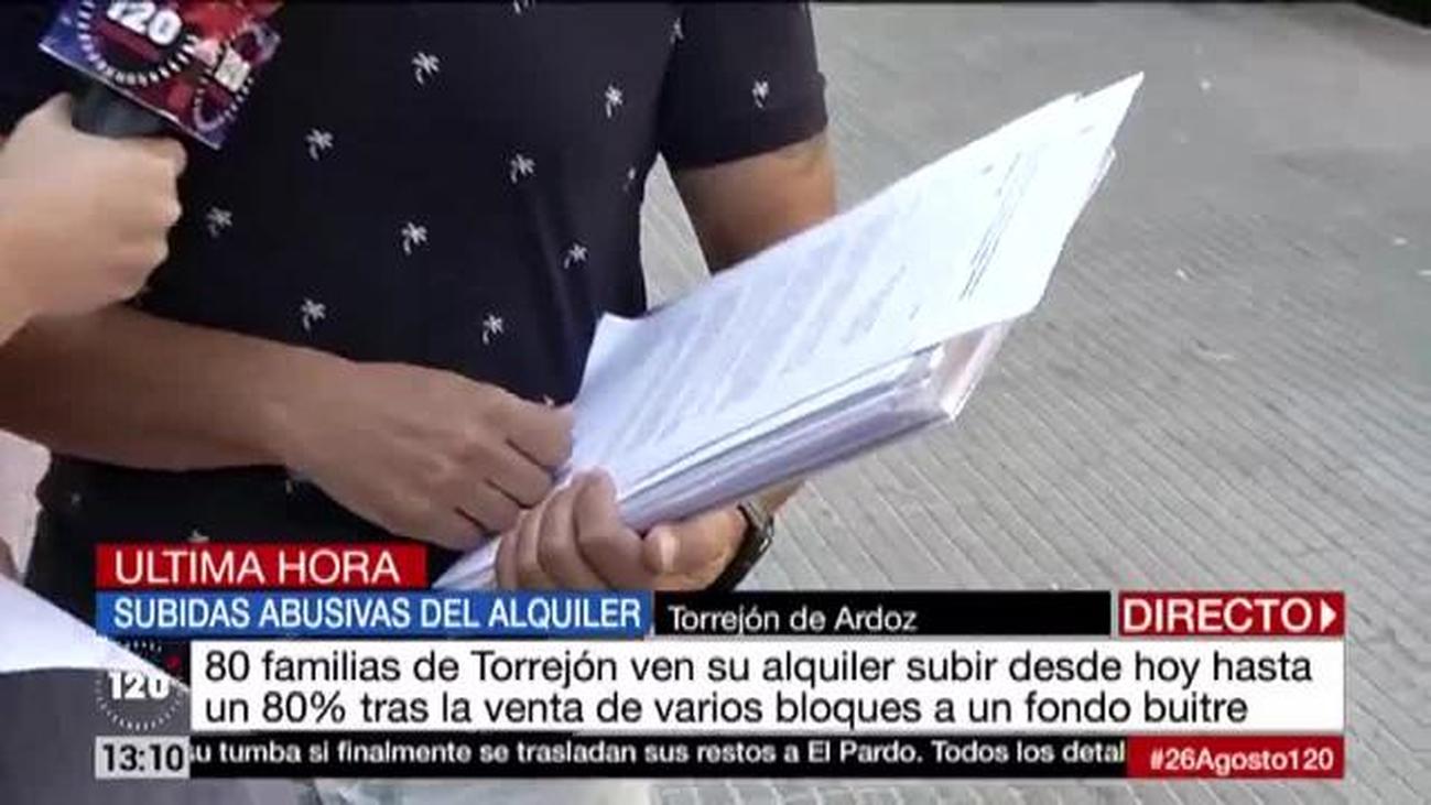 Familias de Torrejón ven incrementado su alquiler hasta en un 80%