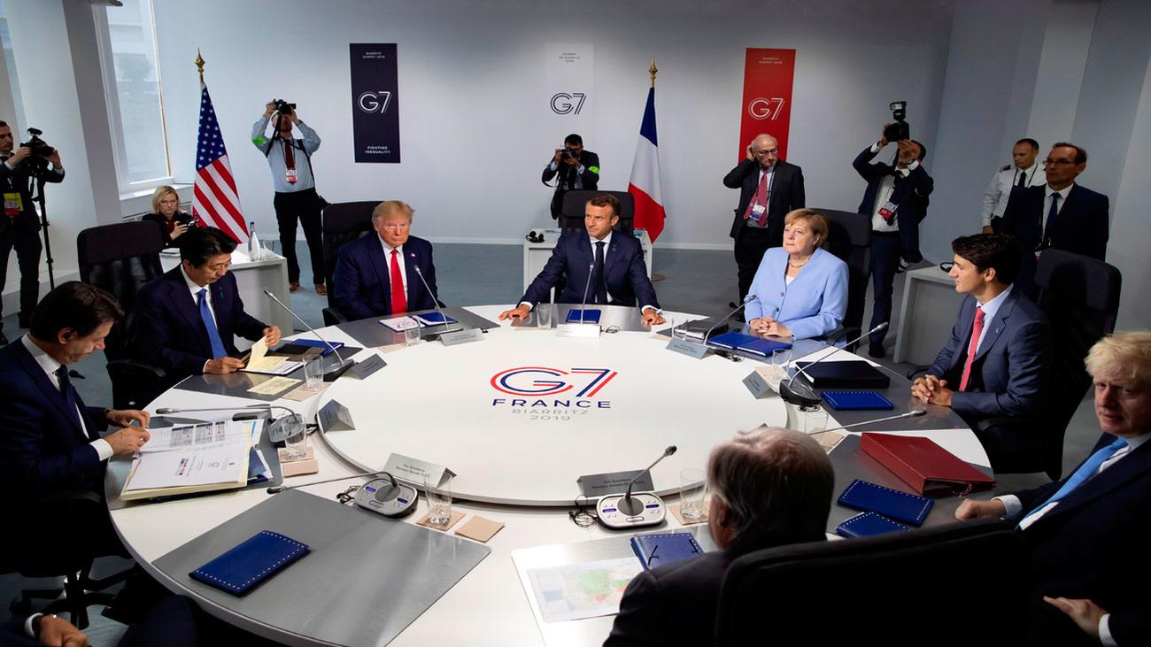El G7 moviliza 20 millones de dólares para combatir el fuego en la Amazonía