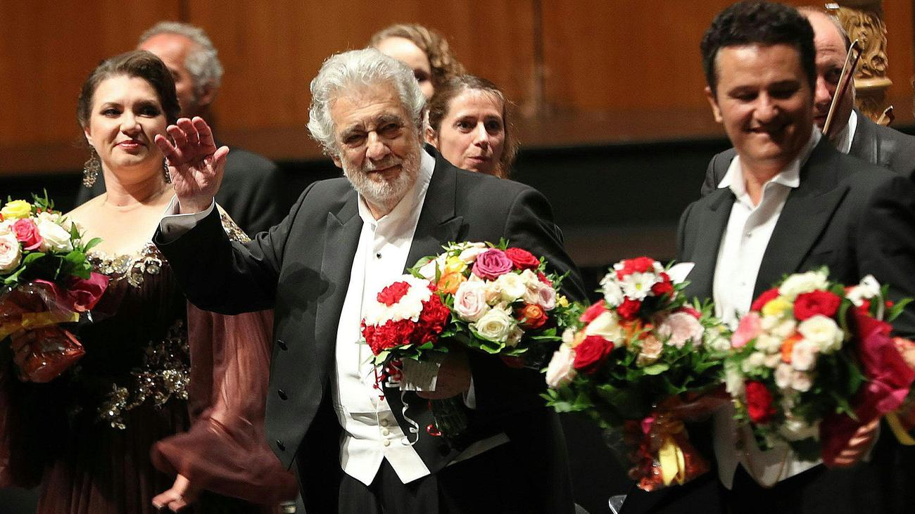 Plácido Domingo ovacionado en Salzburgo