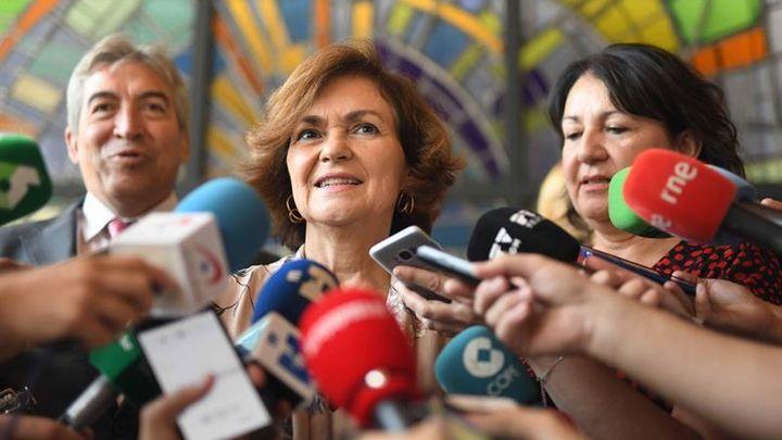 """Calvo reclama una ley estatal para """"ofrecer igualdad de condiciones"""" al colectivo LGTBI en toda España"""