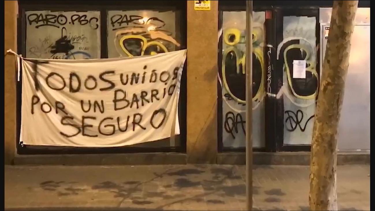 Vecinos de Barcelona y Hospitalet  protestan por la inseguridad