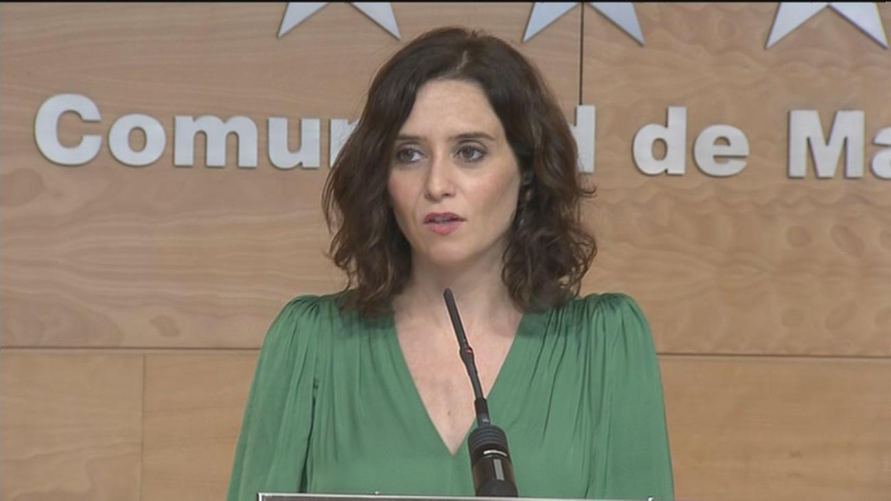 Díaz Ayuso se reunirá con Sánchez para hablar de financiación autonómica