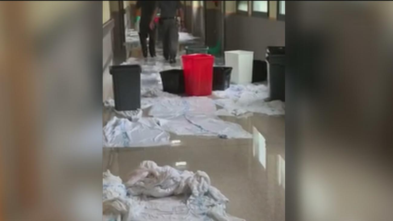 Varios hospitales de Madrid afectados por las lluvias torrenciales