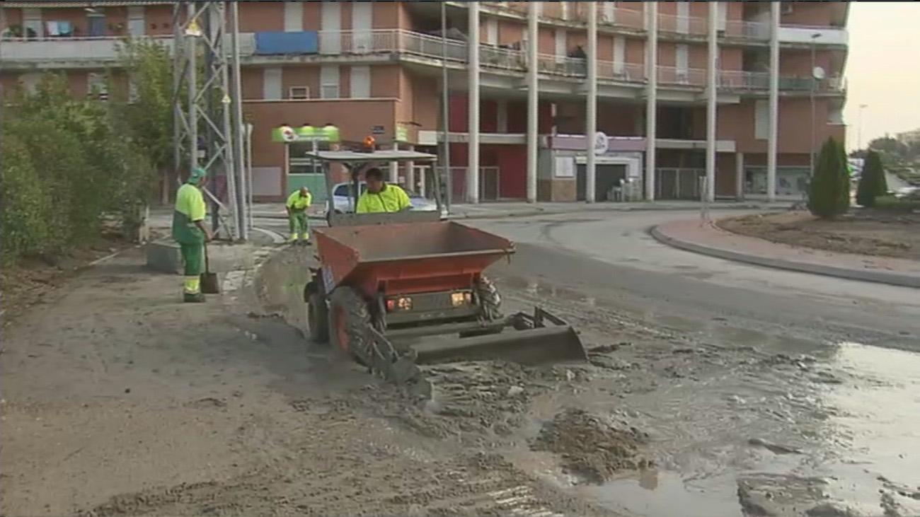 Valdemoro, uno de los municipios más afectados por las lluvias