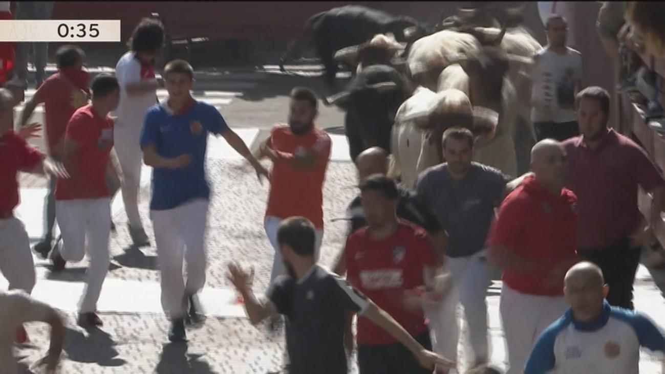Nueve heridos en el primer encierro de San Sebastián de los Reyes