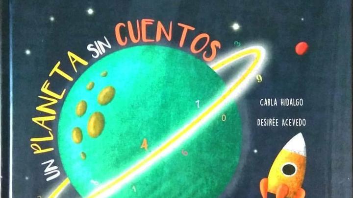 """Carla Hidalgo  nos presenta su proyecto pedagógico """"Un planeta sin cuentos"""""""