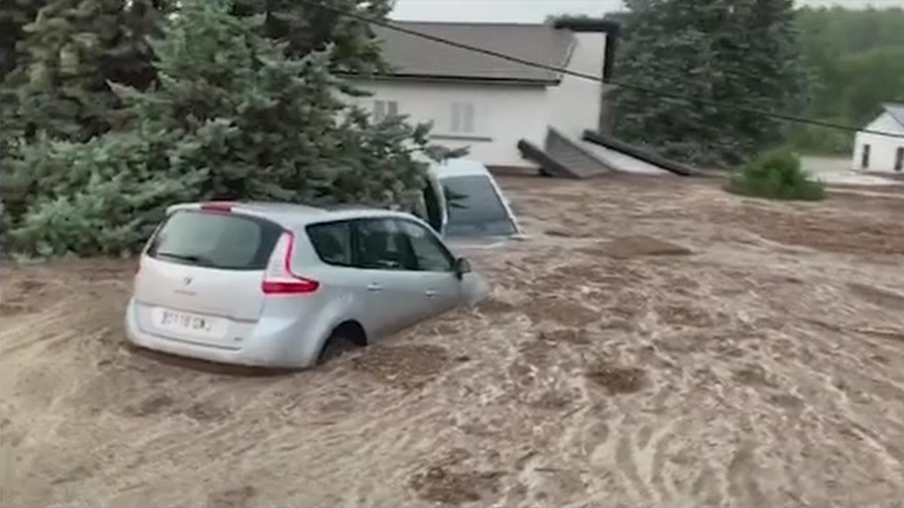 Estudian declarar a Las Navas del Marqués zona catastrófica