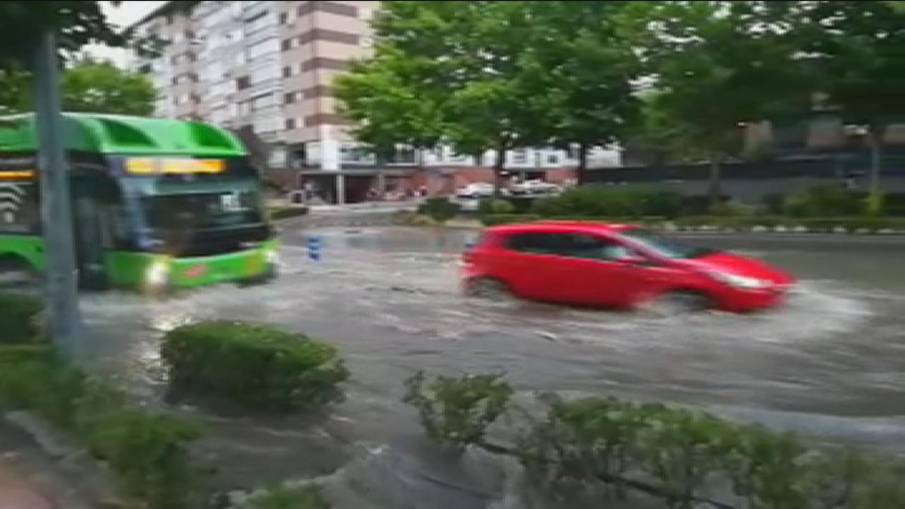 143 avisos en Fuenlabrada por la tormenta