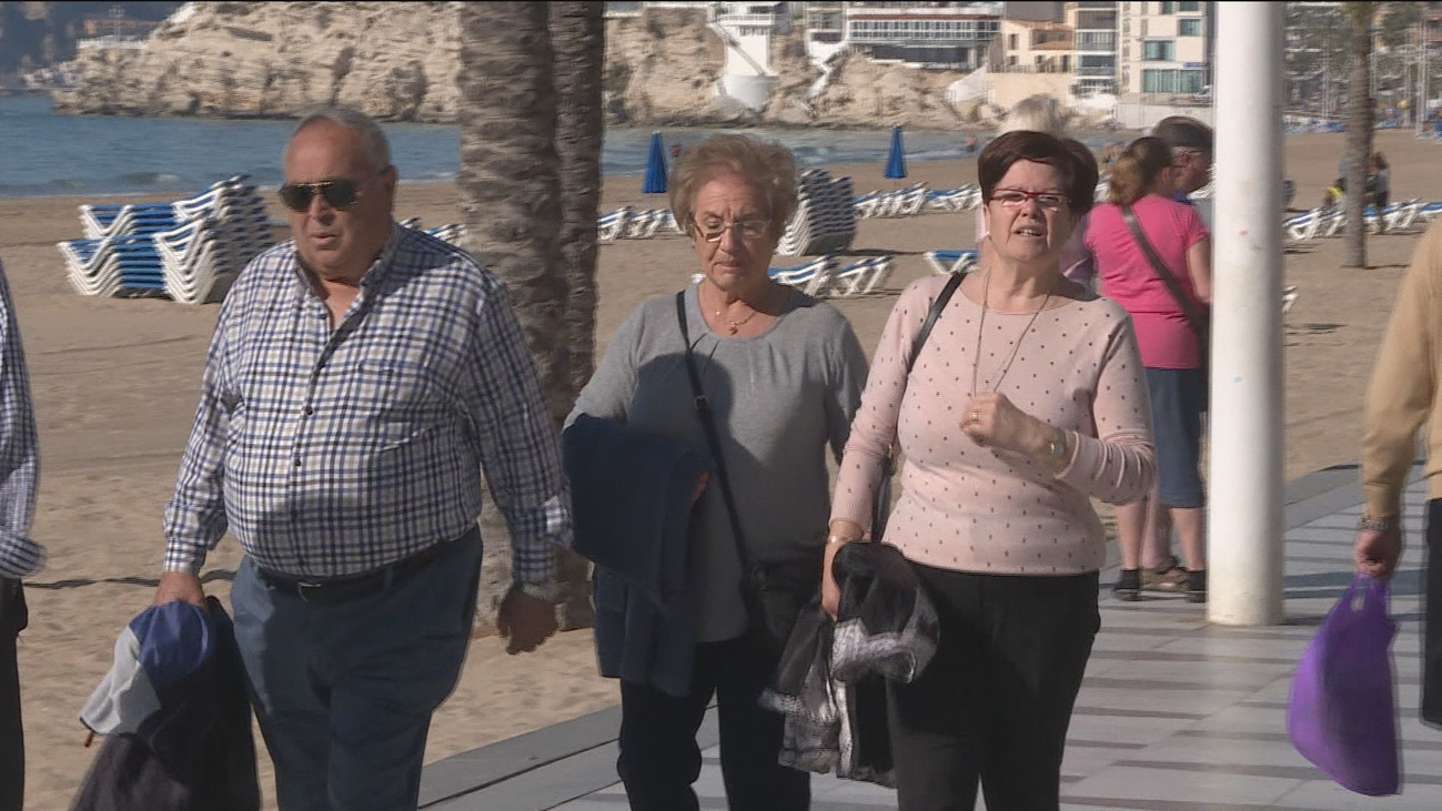 Casi un millón de pensionistas tendrán que retrasar la contratación de sus vacaciones