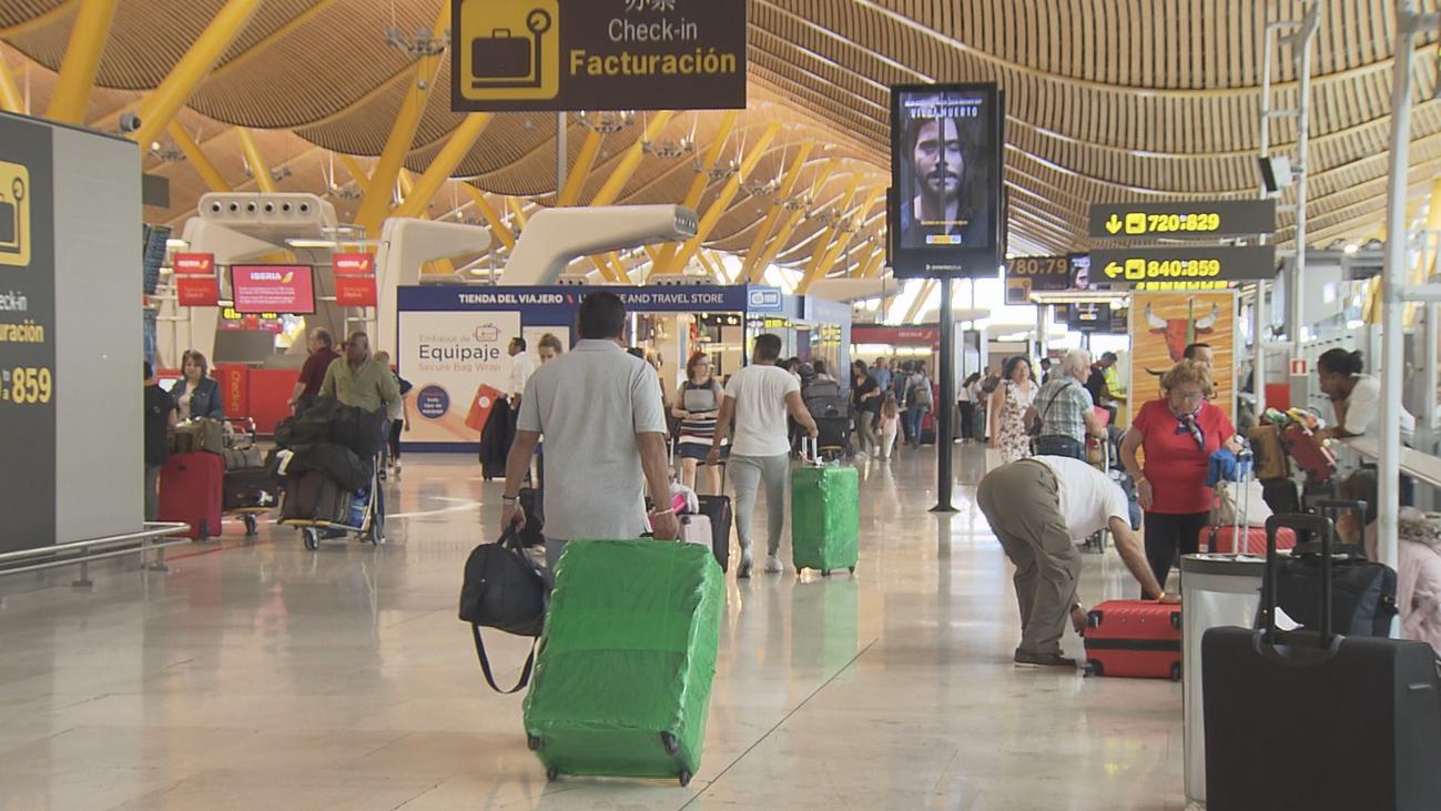 La tormenta no cerró Barajas pero desvió 26 vuelos hacia otros aeropuertos