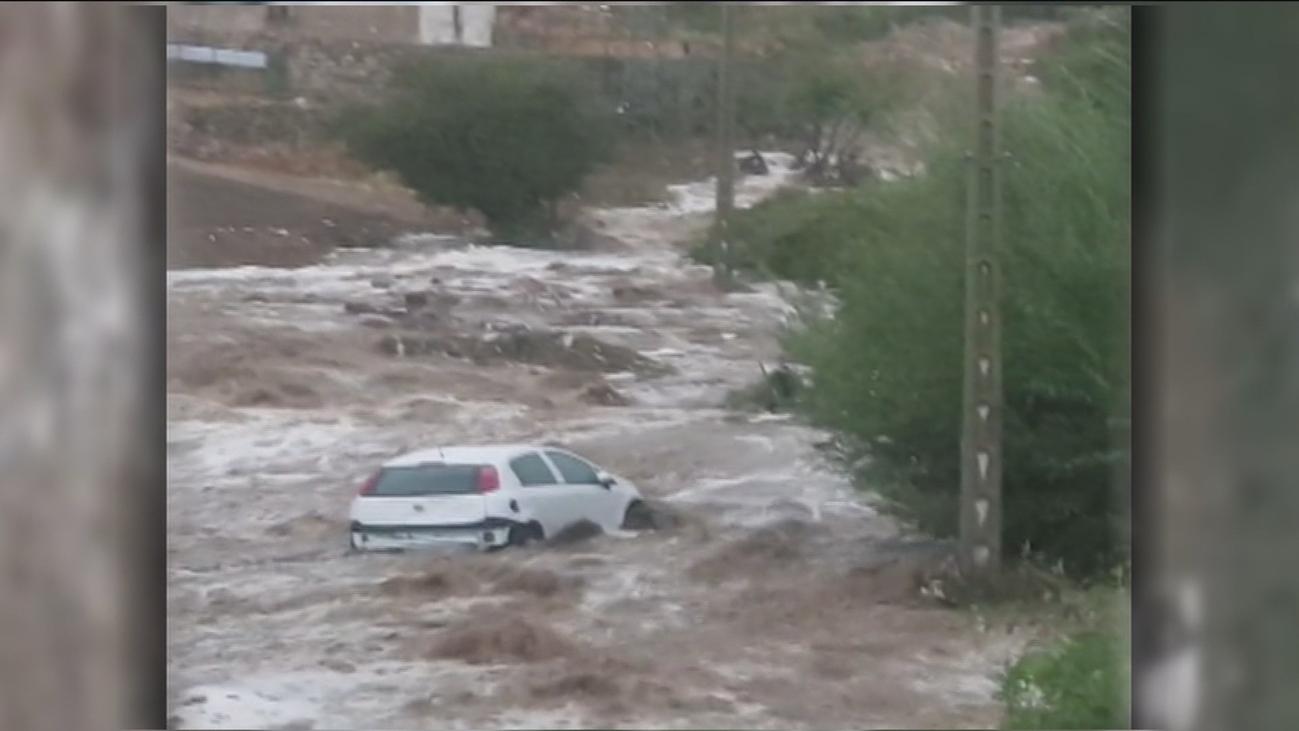 Las tormentas dejan inundaciones y daños materiales en el centro peninsular
