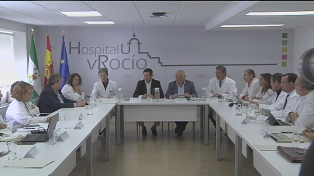 """El brote de listeriosis en """"claro proceso de inflexión"""" , según Moreno Bonilla"""
