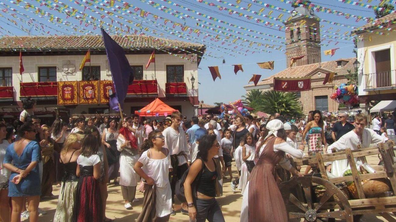 El mercado del Siglo de Oro de Navalcarnero arranca el viernes