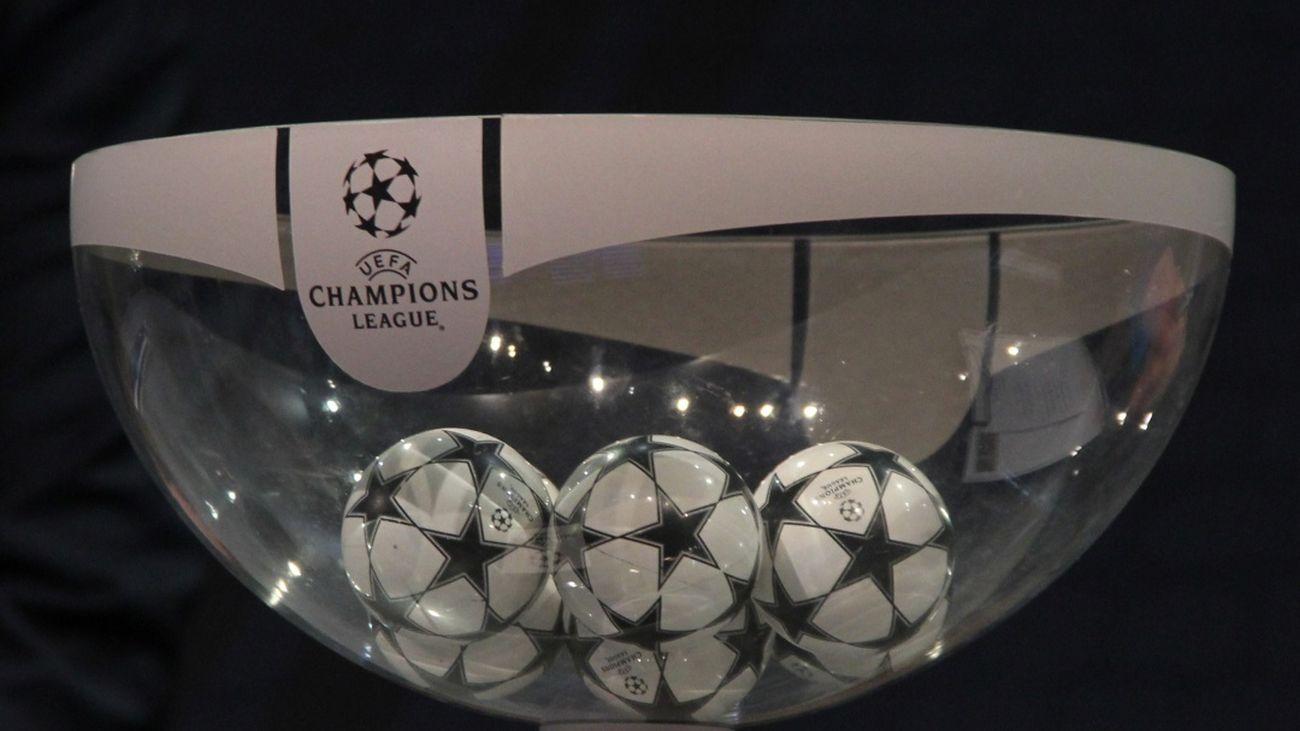 """""""Este es el resultado del sorteo de la Champions """""""