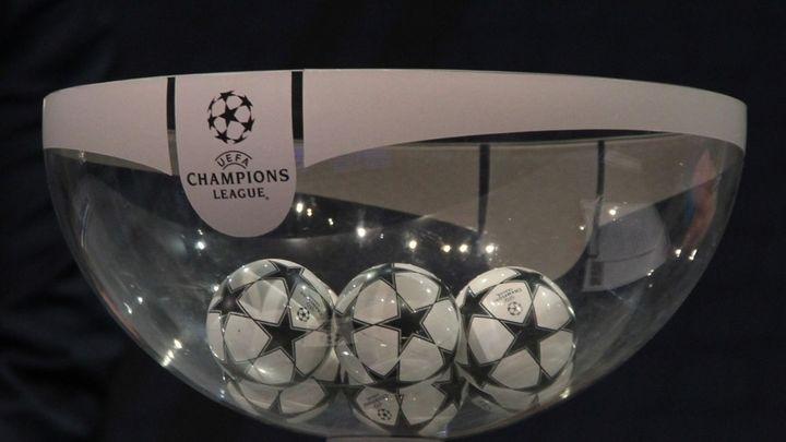 Este es el resultado del sorteo de la Champions