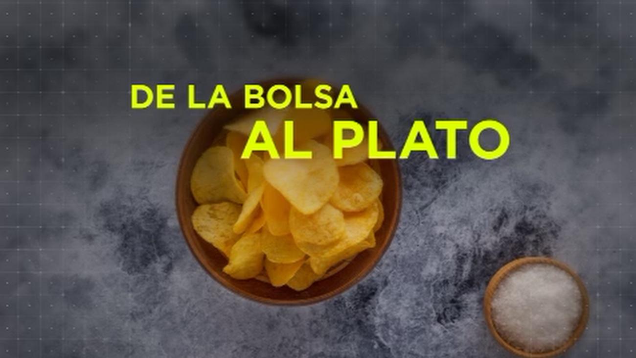 Recetas exprés con patatas chips como ingrediente principal