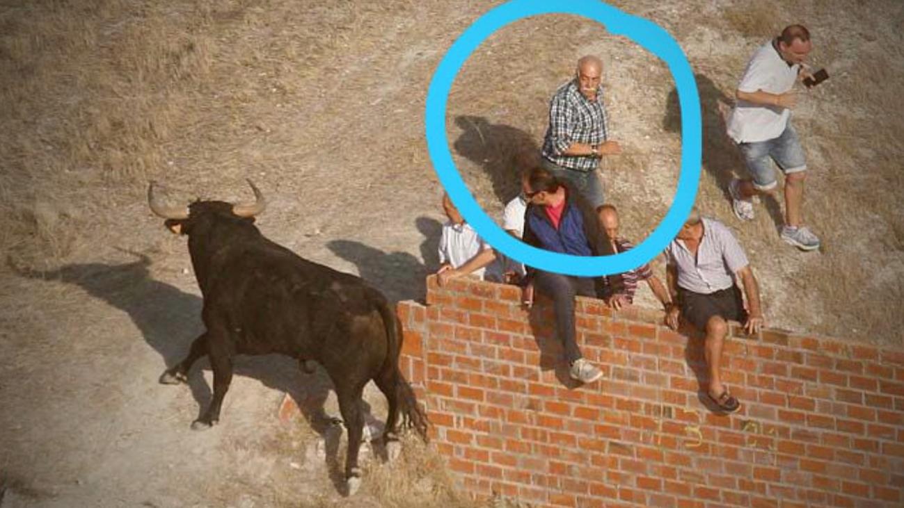 Un hombre de 61 años muere corneado en el encierro de Cuéllar (Segovia)