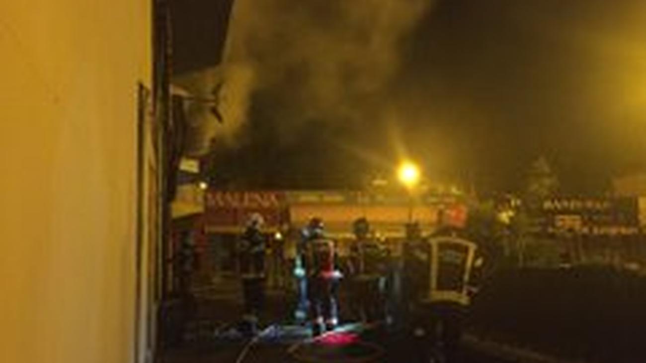 Incendio sin víctimas en un restaurante de Hortaleza