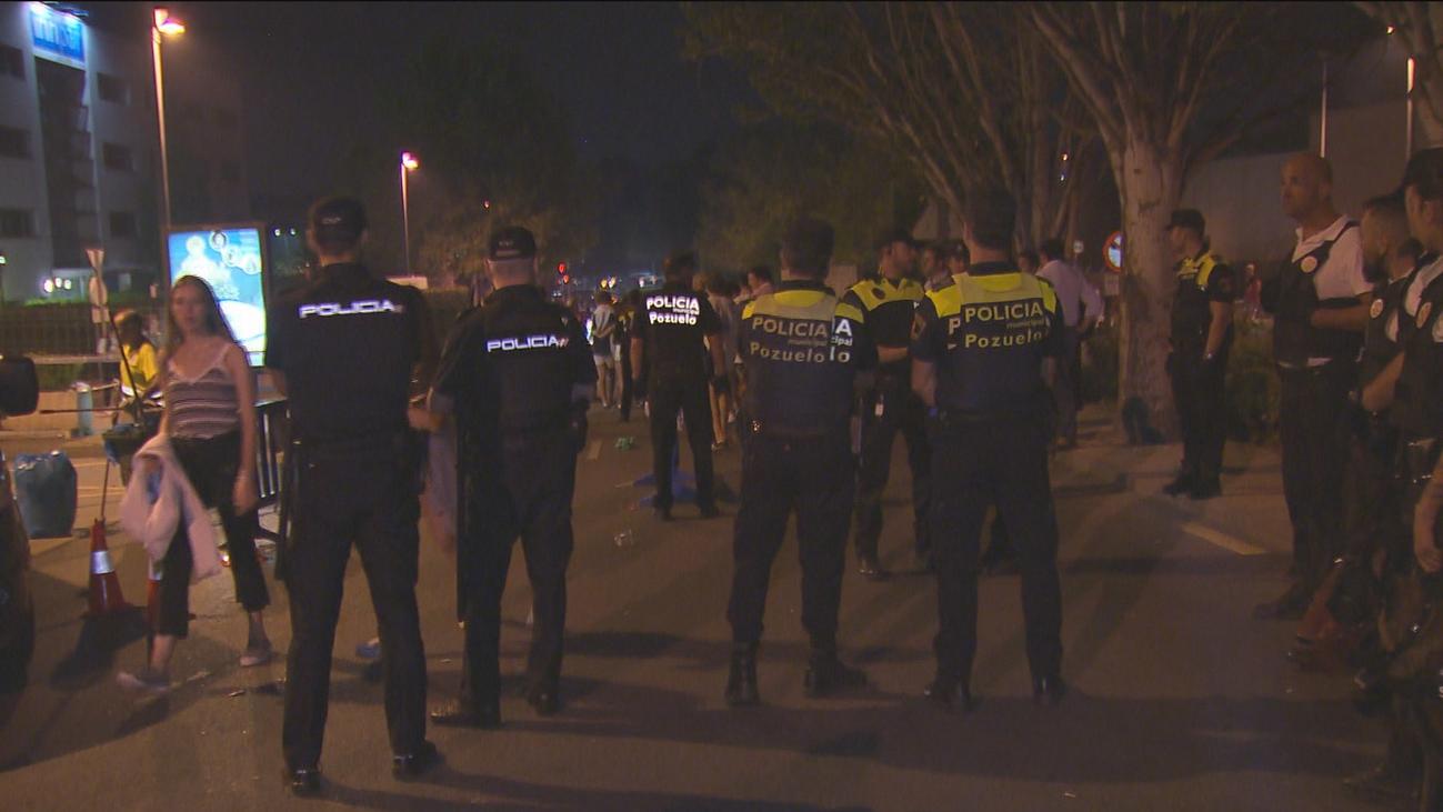 Un centenar de efectivos velan por la seguridad en las fiestas de Pozuelo