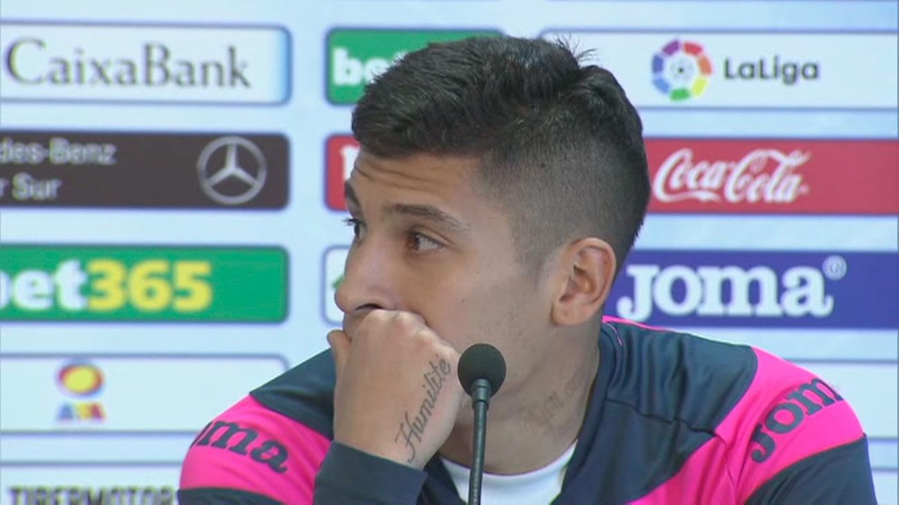 Mathías Olivera, jugador del Getafe, detenido por una presunta agresión a un policía en Albacete