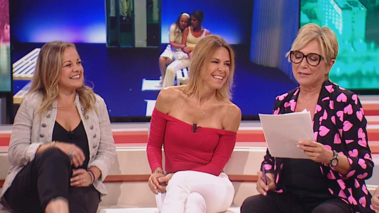 Ángeles Martín y Blanca Oteyza relatan su experiencia en 'Cuidados Intensivos'