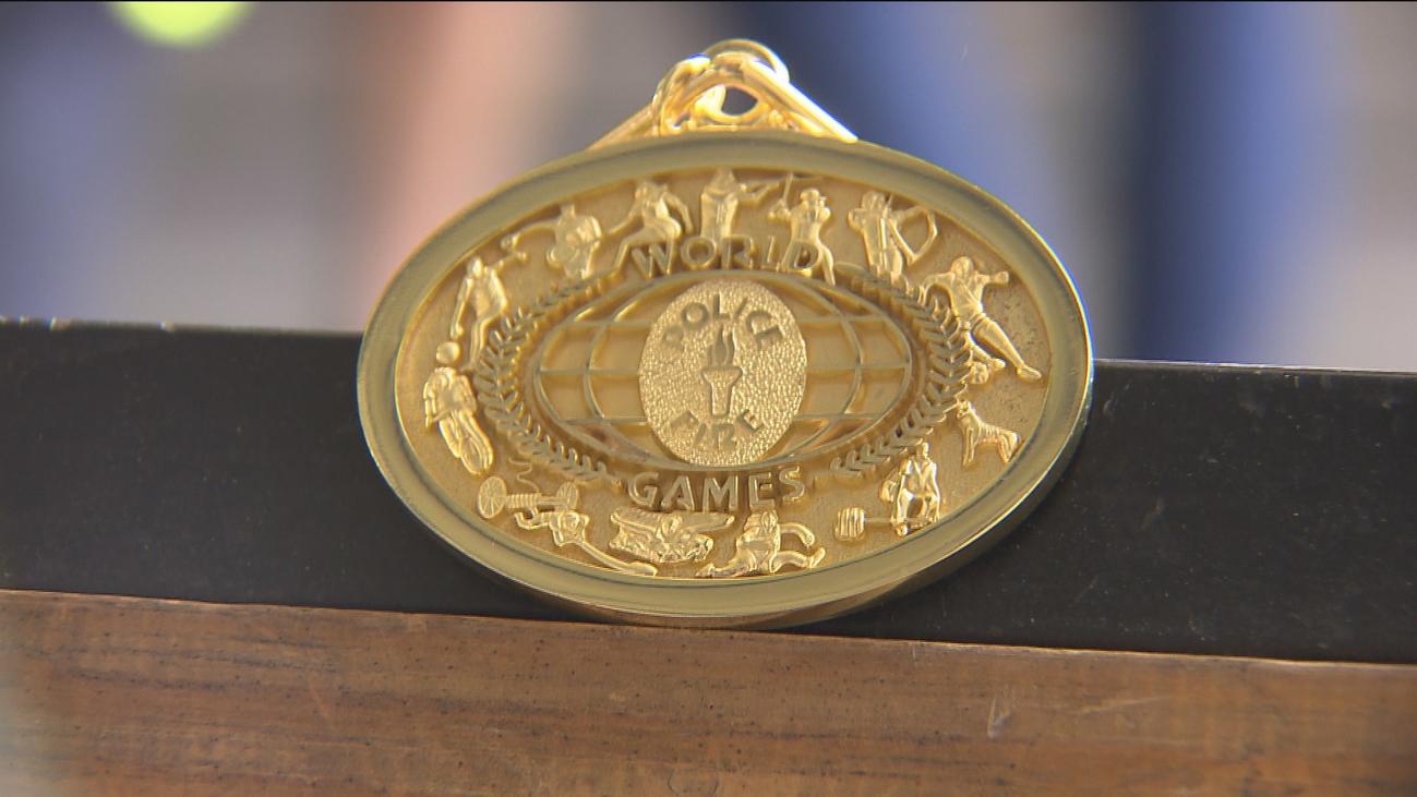 Olimpiada de bomberos con medallas para Madrid