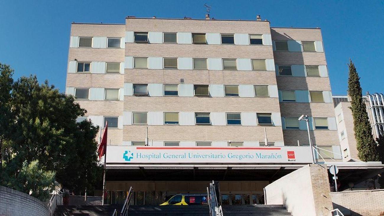 Fachada del Hospital General Universitario Gregorio Marañón