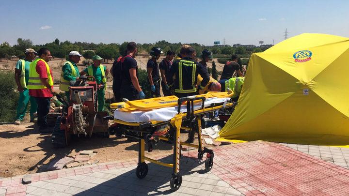 Un trabajador electrocutado, herido grave en Vicálvaro