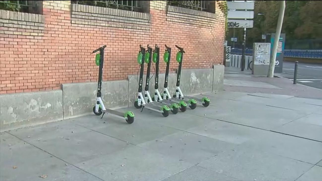 ¿Dónde debemos aparcar el patinete eléctrico en Madrid?