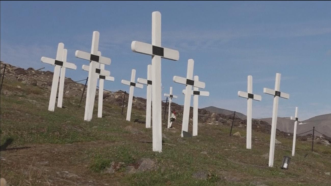 El deshielo del Ártico afecta al cementerio más al norte del planeta
