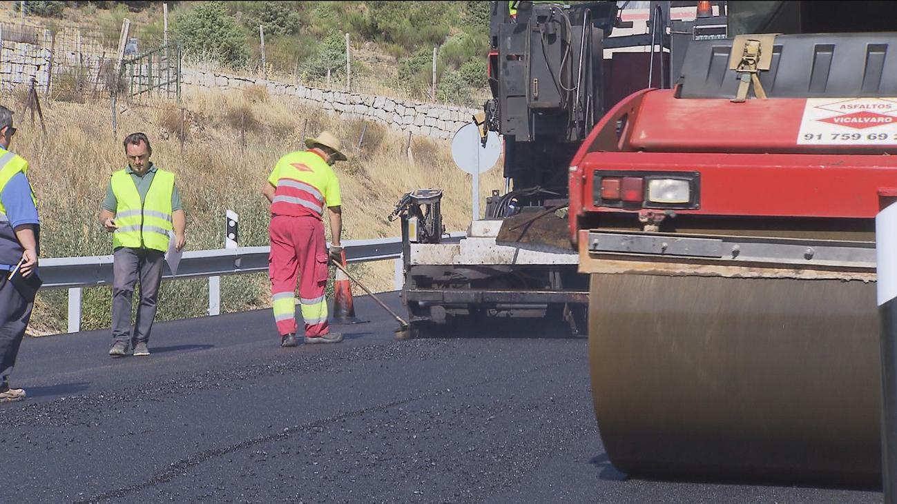 Garrido reafirma el compromiso de la Comunidad de Madrid para la conservación de carreteras