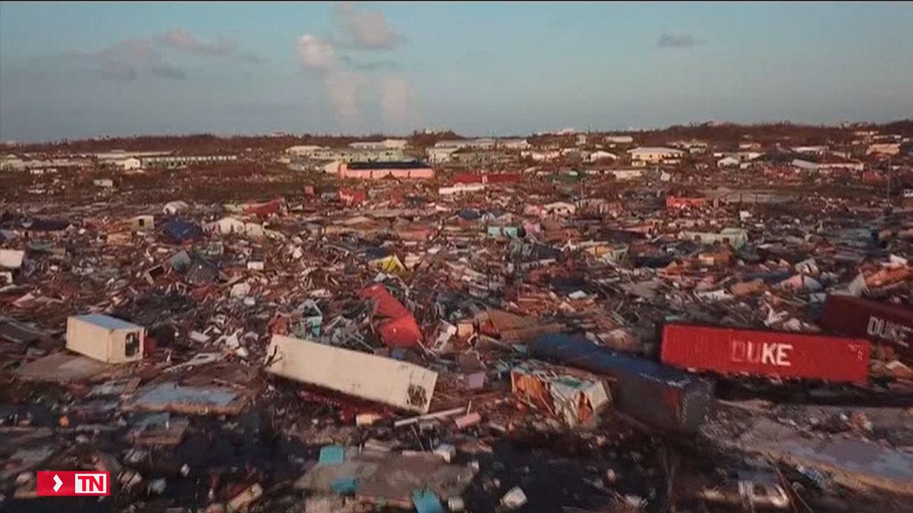 El huracán Dorian destroza las Islas Bahamas