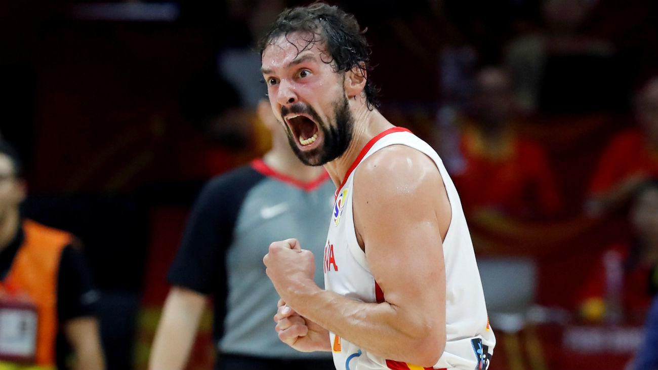 67-60. España gana a Italia y se clasifica para los cuartos del Mundobasket