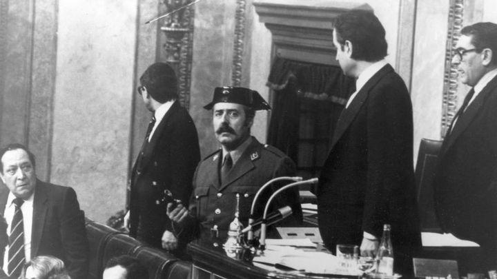 El  23 de febrero de 1981 vivimos el intento de golpe de Estado del Coronel Tejero en España