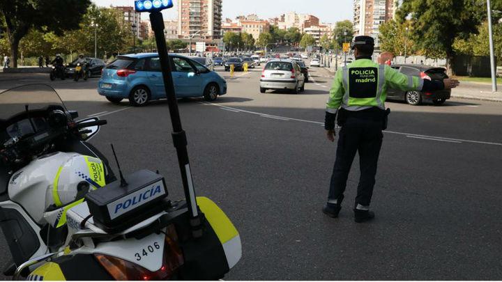Varios eventos provocan cortes de tráfico en varias calles de Madrid este fin de semana