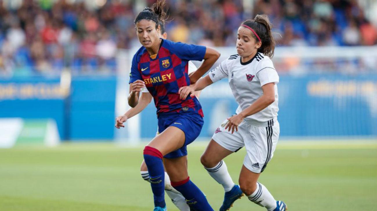 9-1. El Tacón paga la novatada ante el Barça
