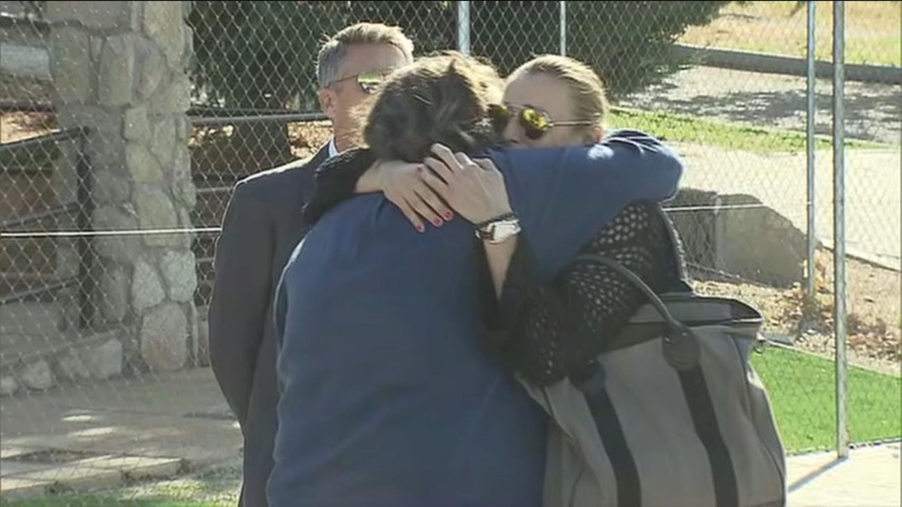 Familiares y amigos despiden a Blanca Fernández Ochoa en Cercedilla