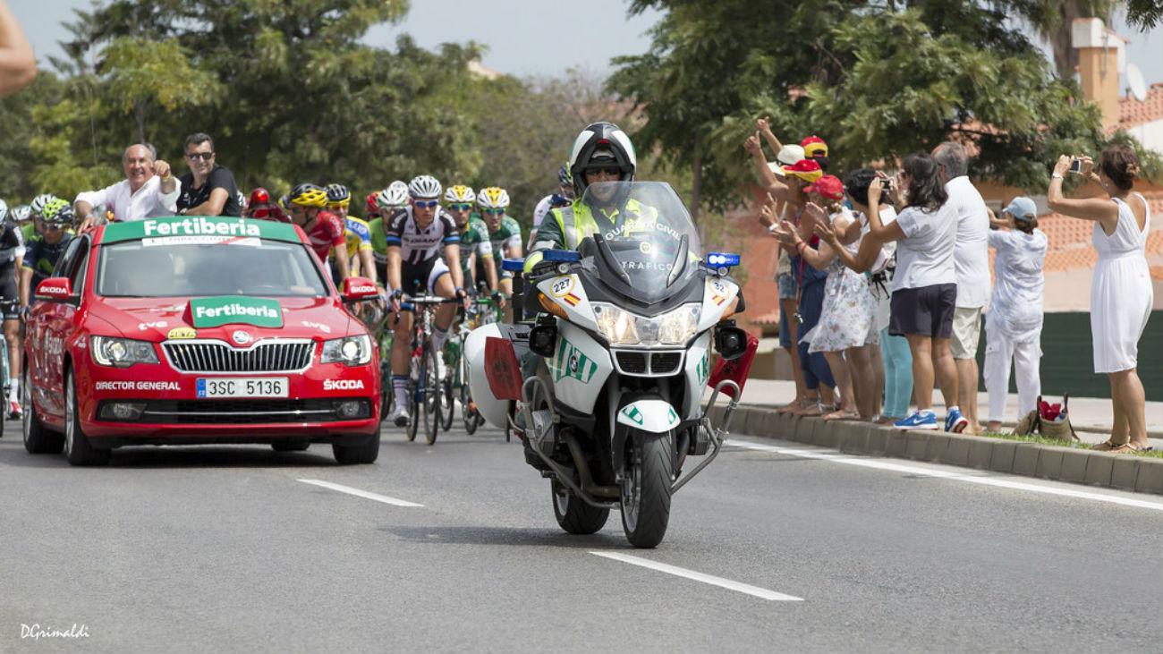 Cortes de tráfico por el paso de La Vuelta
