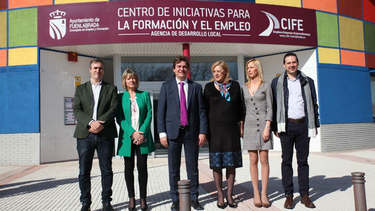 Javier Ayala, alcalde de Fuenlabrada,  ante el CIFE