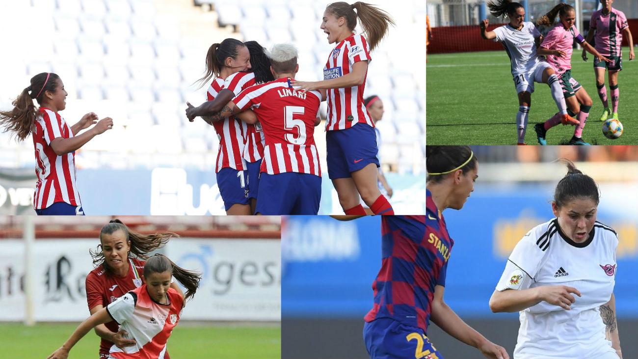Cara y cruz en el debut de los equipos madrileños en Primera femenina