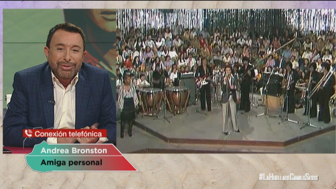 """Andrea Bronston: """"Entre nosotros hubo una relación personal"""""""