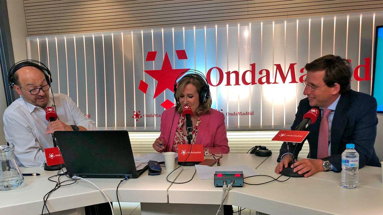 Entrevista a José Luis Martinez Almeida, alcalde de Madrid