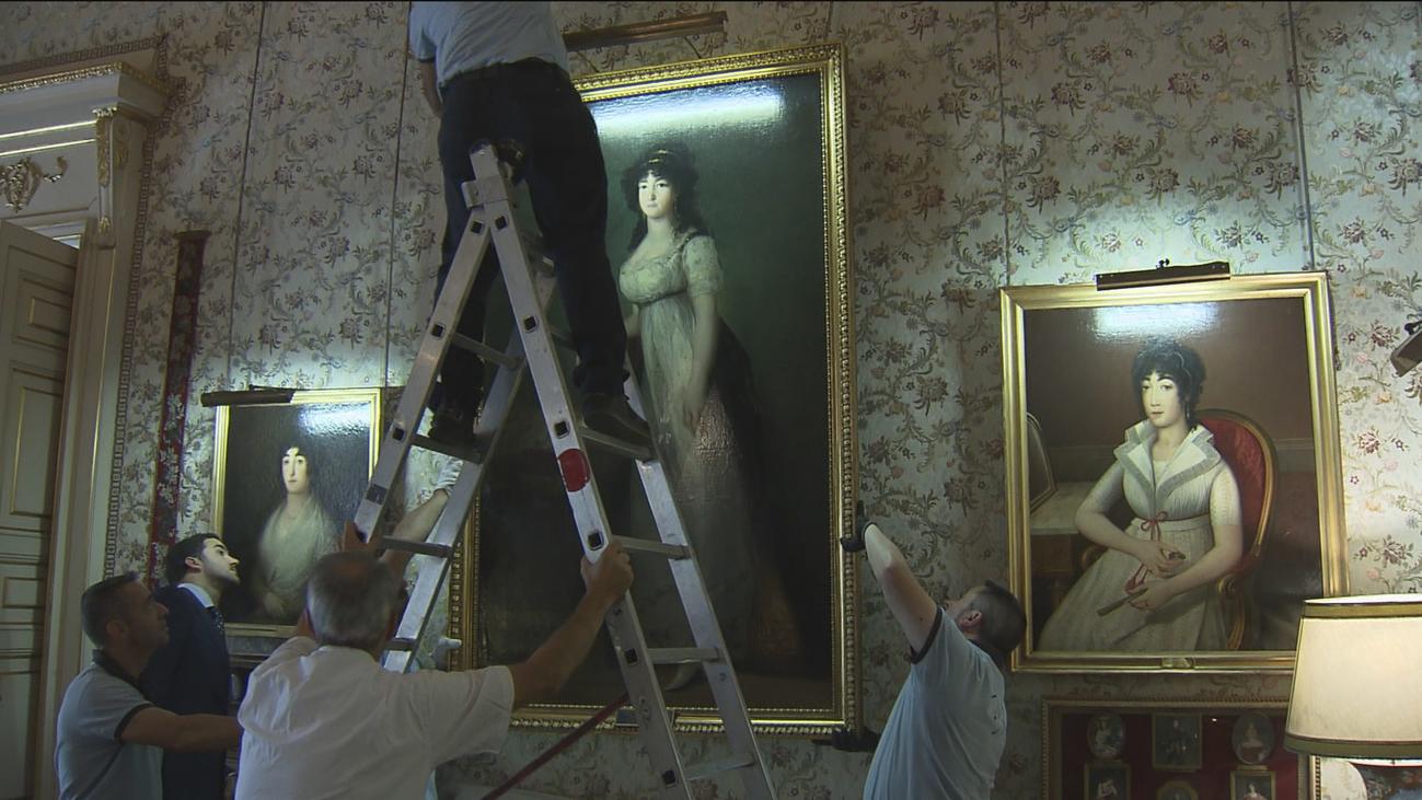 La duquesa de Alba de Goya  regresa a casa