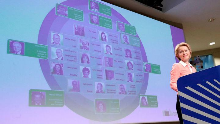 Von der Leyen presenta un Ejecutivo comunitario paritario con 8 vicepresidencias