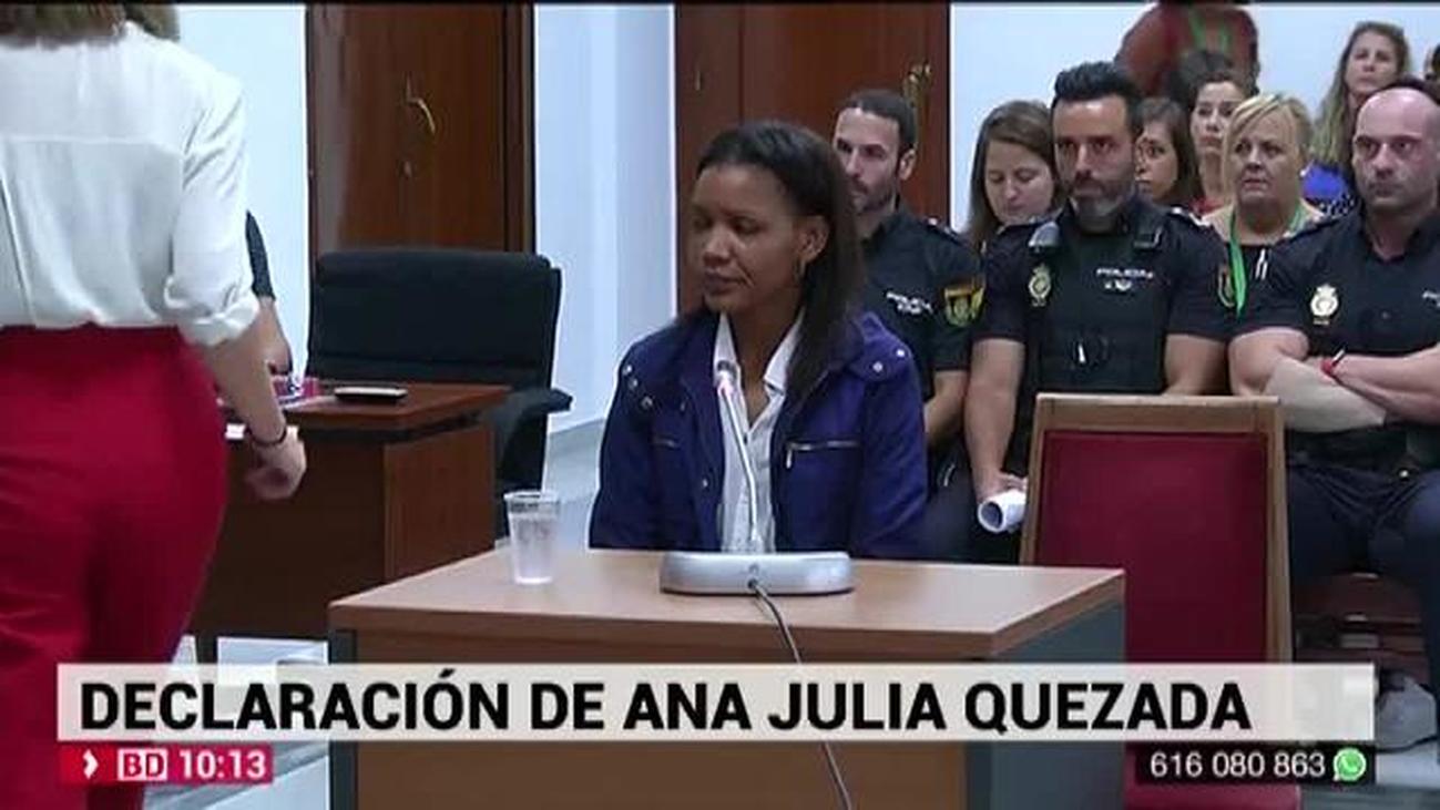 """Ana Julia Quezada, entre lágrimas: """"Le tapé la boca a Gabriel, pero no quería hacerle daño"""""""