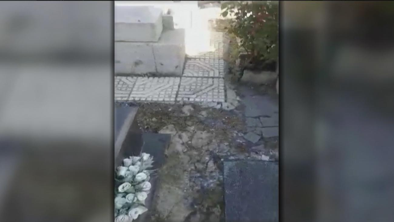 Denuncian el lamentable estado del cementerio antiguo de Fuenlabrada