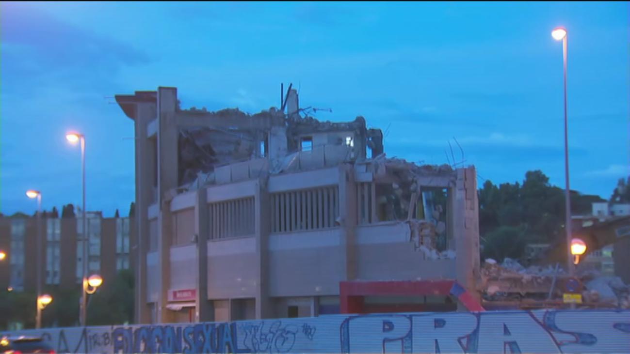 La vuelta al cole reactiva las quejas por las obras del Vicente Calderón