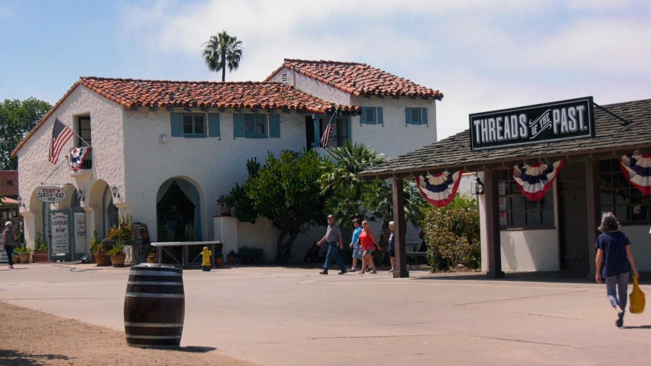 Old Town, las reliquias de la fundación de San Diego